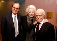 John Cooke, Jean Picker Firstenberg and Jack Valenti at the National Italian American Foundation and American Film Institute reception.