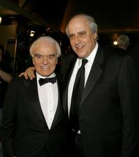 Jack Valenti and Dan Glickman at the 59th Annual Directors Guild Of America Awards.