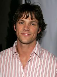 Jared Padelecki at the WB Network stars party.