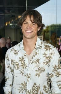 Jared Padalecki at the Cocktail Party to celebrate