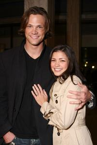 Jared Padalecki and Sandy at the premiere of