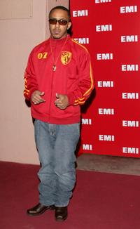 Marques Houston at the EMI Post Grammy Party.