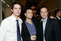 Matthew Goode, Joseph Gordon-Levitt and Sergio Di Zio at the after party of