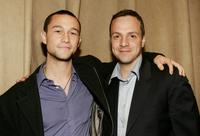 Joseph Gordon-Levitt and Sergio Di Zio at the after party of the screening of