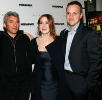 Daniel Battsek, Isla Fisher and Sergio Di Zio at the screening of