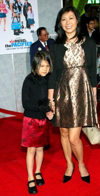 Tsui Mung-Ling and Guest at the premiere of