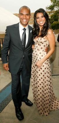 Amaury Nolasco and Roselyn Sanchez at the 2007 NCLR ALMA Awards.