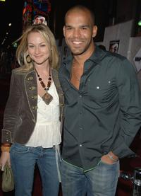 Chante Davis and Amaury Nolasco at the premiere of