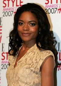 Naomie Harris at the ELLE Style Awards.