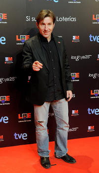 Antonio de la Torre at the Goya Cinema Awards in Madrid.