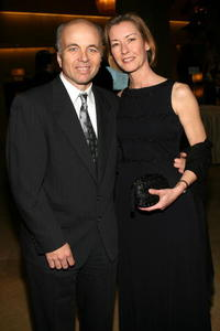 Clint Howard and wife Melanie at the 56th Annual ACE Eddie Awards.
