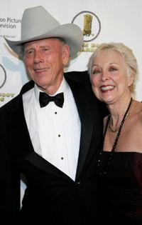 Rance Howard and Judy O Sullivan at the 24th Annual Golden Boot Awards.