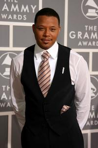 Terrence Howard at the 49th Annual Grammy Awards.
