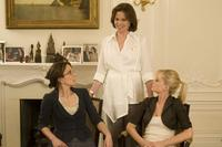 Tina Fey as Kate Holbrook, Sigourney Weaver as Chaffee Bicknell and Amy Poehler as Angie Ostrowiski in