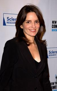 Tina Fey at the benefit for the Scleroderma Research Foundation.