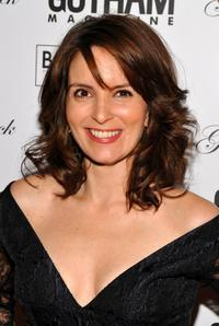 Tina Fey at the Gotham Magazine's 8th Annual Gala.