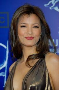 Kelly Hu at the 7th Annual Taurus World Stunt Awards.