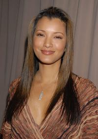Kelly Hu at the Sixth Annual Awards Season Diamond Fashion Show.
