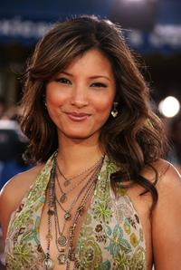 Kelly Hu at the premiere of