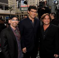 Jackie Earle Haley, Richard Brenner and Samuel Bayer at the premiere of