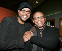 Bruce W. Smith and Reginald Hudlin at the