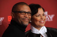 Reginald Hudlin and Debra L. Lee at the BET's