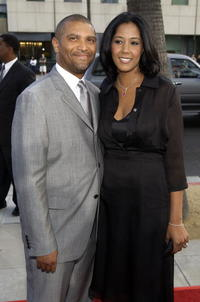 Reginald Hudlin and wife Chrisette at the premiere of