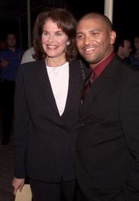 Reginald Hudlin and Sherry Lansing at the premiere of