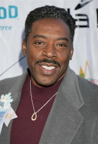 Ernie Hudson at the 2005 Hollywood Christmas Parade.