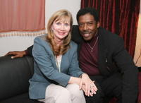 Ernie Hudson and his wife Linda Kingsberg at the creative coalition VIP