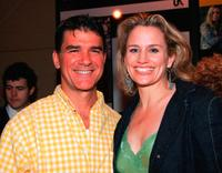 Dennis Gagomiros and Cady Huffman at the screening of