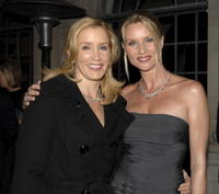 Felicity Huffman and Nicolette Sheridan attend Simply Spectacular: Tiffany & Co. Celebrates 2008 Blue Book Collection.