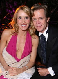 Felicity Huffman and husband William H. Macy at the 11th Annual Entertainment Tonight Party sponsored by People.