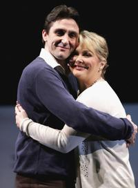 Stephen McGann and Cheryl Baker at the press preview for the new Westend show