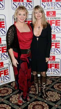 Cheryl Baker and Shelly Preston at the Daily Express Life Savers Awards.