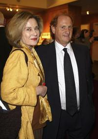 Diane Baker and Mike Medavoy at the Academy of Motion Picture Arts and Sciences centennial tribute to Oscar winning director George Stevens.