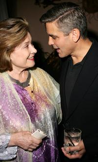 Diane Baker and George Clooney at the