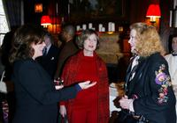 Diane Baker, Marsha Mason and Celia Weston at The New York Oscar Party Tasting at Le Cirque 2000.