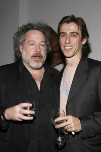 Tom Hulce and Joseph Smith at the opening night after party for
