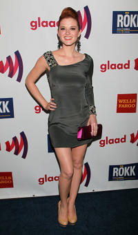Sarah Drew at the 22nd annual GLAAD Media Awards in California.