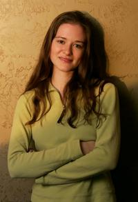 Sarah Drew at the 2005 Sundance Film Festival.