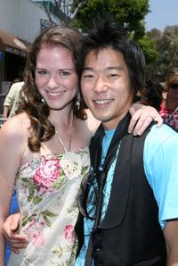 Sarah Drew and Aaron Yoo at the premiere of