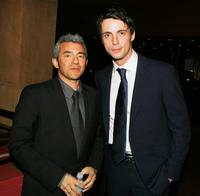 Daniel Battsek and Matthew Goode at the premiere of