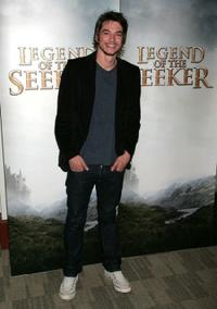 Craig Horner at the 2009 Disney and ABC Television Group summer press junket.