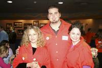 Carol Kane, Shaun O'Hara and Geraldine Hughes at the 18th Annual Second Stage All-Star Bowling Classic.