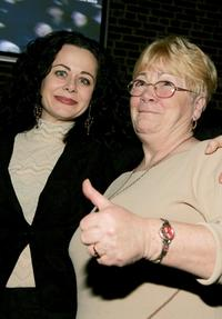 Geraldine Hughes and her mother Sheila Hughes at the after party of the opening night of