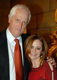 Garrett Brown and Geraldine Hughes at the after party of the Philadelphia premiere of