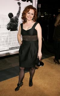 Geraldine Hughes at the premiere of