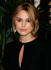 Keira Knightley at the Oscar Nominees Luncheon.