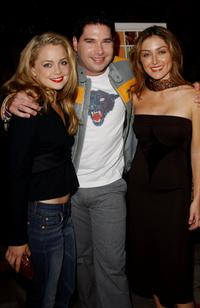 Marisa Coughlin, Joel Michaely and Sasha Alexander at the premiere of